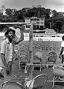 Reggae Sunsplash Arena day before sunsplash