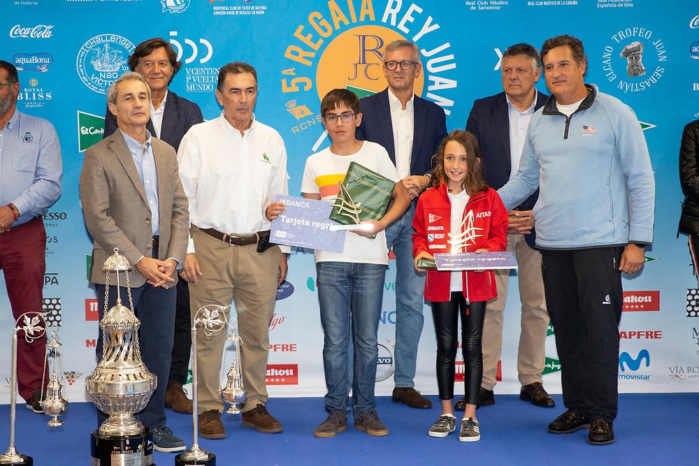 © Maria Muina I Sailingshots.es, 29/09/2019 - Vigo (Pontevedra) - Regata Rey Juan Carlos - El Corte Inglés Máster 2019, Sanxenxo 2019 - Presentación Sede El Corte Inglés de Vigo.