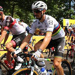LIBOURNE (FRA) CYCLING: July 16<br /> 19th stage Tour de France Mourenx-Libourne<br /> Julian Alaphillipe