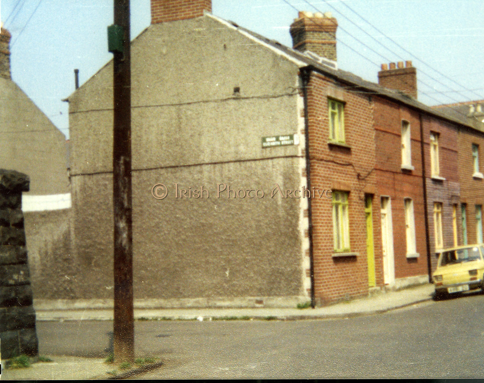 Old Dublin Amature Photos Date Unknown With 1980s Old amateur photos of Dublin streets churches, cars, lanes, roads, shops schools, hospitals, fiat babino 126