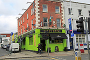 Devitts Lounge Bar pub  Lower Camden Street, corner city of Dublin, Ireland, Irish Republic