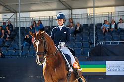 De Vries Mara, NED, Habibi DVB<br /> Nederlands Kampioenschap dressuur<br /> Ermelo 2020<br /> © Hippo Foto - Sharon Vandeput<br /> 20/09/2020