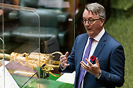 Health Minister Martin Foley during Question Time.