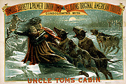 Uncle Tom's cabin  [1881] (poster) : lithograph, colour