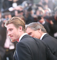 Garret Hedlund, Viggo Mortensen,  at the On The Road gala screening red carpet at the 65th Cannes Film Festival France. The film is based on the book of the same name by beat writer Jack Kerouak and directed by Walter Salles. Wednesday 23rd May 2012 in Cannes Film Festival, France.