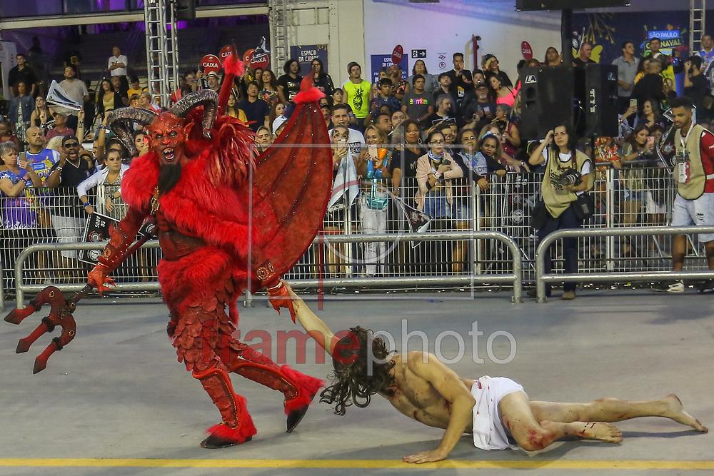 03.03.2019 - SÃO PAULO, SP - Desfile da escola de samba Gaviões da Fiel, no Sambódromo do Anhembi, pelo Grupo Especial do carnaval 2019 de São Paulo. ( Foto: Jales Valquer / FramePhoto )