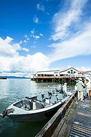 Salmon fishing Astoria, Oregon.