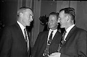 1963 - Annual general meeting of St. Brendan's College Union (Dublin Branch) at Jury's Hotel, Dublin