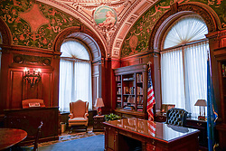 The Jefferson Building Office in the Congress Library in the Capitol Building in Washington DC in the United States. From a series of travel photos in the United States. Photo date: Friday, March 30, 2018. Photo credit should read: Richard Gray/EMPICS