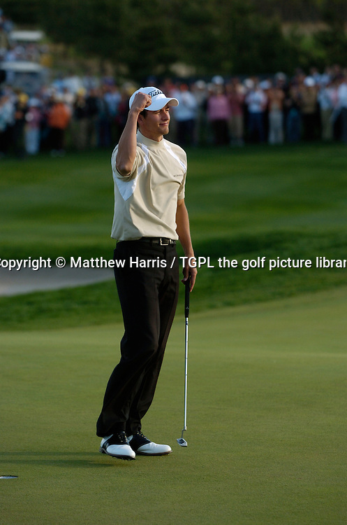 Adam SCOTT (AUS) wins at 18th during fourth round Johnnie Walker Asian Classic 2005,Pine Valley Resort & Country Club,Beijing,China
