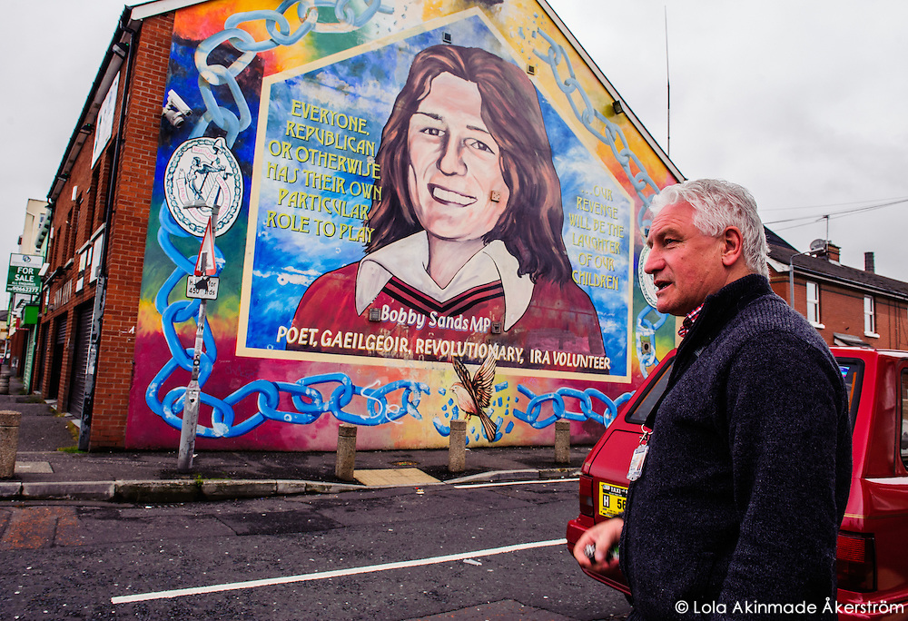 Ireland History on the streets of Belfast