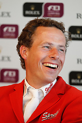 Christian Ahlmann<br /> Rolex FEI World Cup Final Jumping 2011<br /> © Hippo Foto - Leanjo de Koster