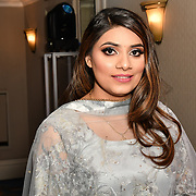 Mannat Noor is a singer attend the BritAsiaTV Presents Kuflink Punjabi Film Awards 2019 at Grosvenor House, Park Lane, London,United Kingdom. 30 March 2019