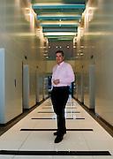 Portrait of Dan Reid at the Six Senses Resort office in Bangkok, Thailand