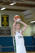 UK, Chelmsford - Thursday, March 05, 2009: Lee Atkinson during the Essex Basketball League game Erkenwald at Baddow Eagles. Erkenwald won the game 94 - 75. (Image by Peter Horrell / http://www.peterhorrell.com)