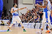 DESCRIZIONE : Beko Legabasket Serie A 2015- 2016 Dinamo Banco di Sardegna Sassari - Enel Brindisi<br /> GIOCATORE : Rok Stipcevic<br /> CATEGORIA : Ritratto Esultanza<br /> SQUADRA : Dinamo Banco di Sardegna Sassari<br /> EVENTO : Beko Legabasket Serie A 2015-2016<br /> GARA : Dinamo Banco di Sardegna Sassari - Enel Brindisi<br /> DATA : 18/10/2015<br /> SPORT : Pallacanestro <br /> AUTORE : Agenzia Ciamillo-Castoria/C.Atzori
