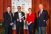 The 2015 Scottish Border Buisness Award winners for Outstanding Achievement : BAM Nuttall. The award was sponsored by Scottish Borders Chamber of Commerce.<br /> <br /> The 2015 Scottish Border Buisness Awards, held at Springwood Hall, Kelso. The awards were run by the Scottish Borders Chambers of Commerce, with guest speaker Keith Brown, MSP. The SBCC chairman Jack Clark and the presenter Fiona Armstrong co hosted the event.
