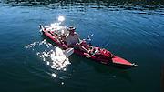 Kayaking, Spencer Spit, Lopez Island, San Juan Islands, Washington State