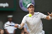 WIMBLEDON - GB -  6th July 2016: The Wimbledon Tennis Championship at the All England Lawn Tennis Club in S.E. London.<br /> <br /> Andy Murray vs Jo-Wilfried TSONGA<br /> ©Ian Jones/ Exclusivepix Media