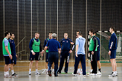 Open training session for the public of Slovenian handball National Men team before European Championships Austria 2010, on December 27, 2009, in Terme Olimia, Podcetrtek, Slovenia.  (Photo by Vid Ponikvar / Sportida)