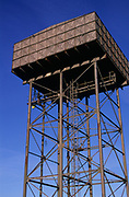 A3A7RE Water tower Bentwaters Parks former US airbase Suffolk England
