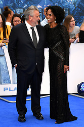 Luc and Virginie Besson attending the European premiere of Valerian and the City of a Thousand Planets at Cineworld in Leicester Square, London