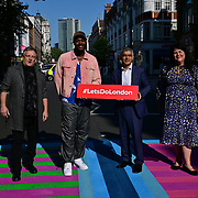 Mayor of London, Sadiq Khan launches Let's Do London Autumn culture season with spectacular public s
