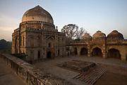 The Bara Gumbad and the Mehman Khana, Lodhi Gardens, New Delhi, India