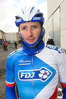 Delage Michael - Fdj - 31.03.2015 - Trois jours de La Panne - Etape 01 - De Panne / Zottegem <br /> Photo : Sirotti / Icon Sport<br /> <br />   *** Local Caption ***