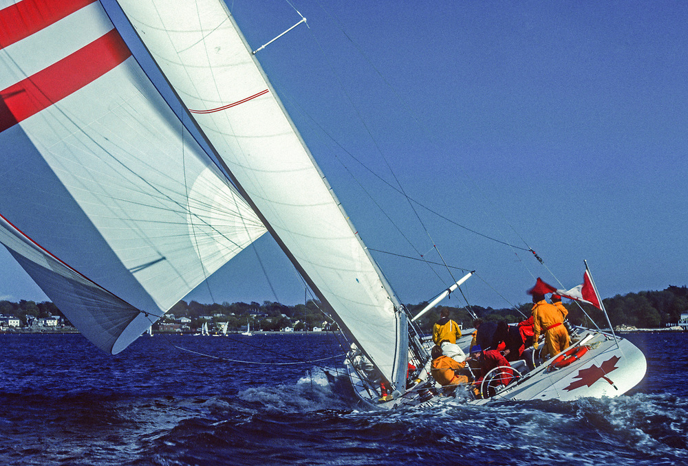 1983 America's Cup<br /> Louis Vuitton Cup <br /> CANADA