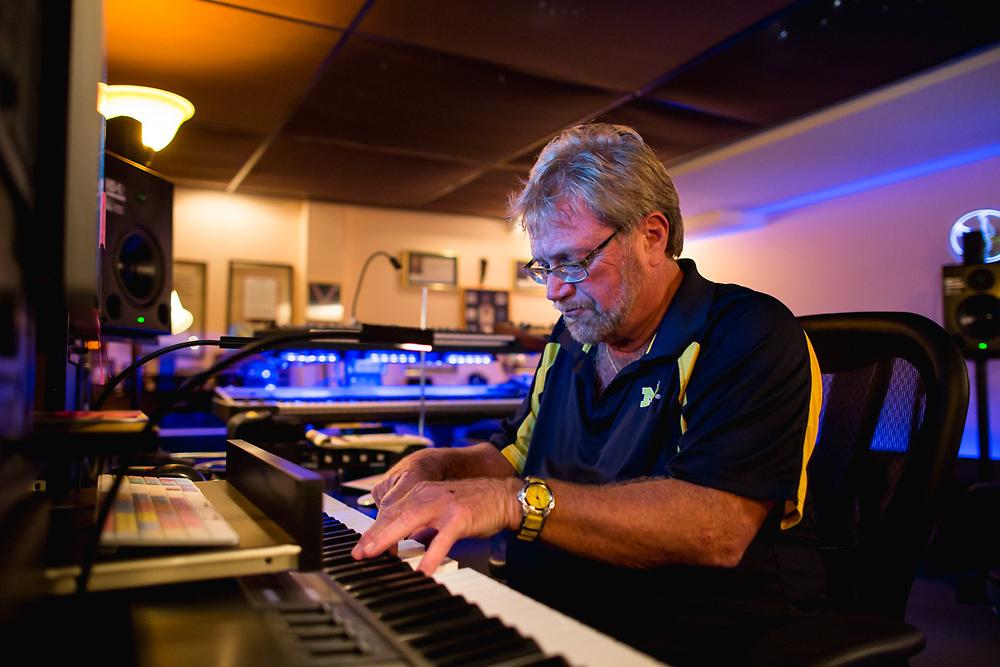 2015 August 10 - Photos of Mannheim Steamroller's Chip Davis at his house in Omaha, Nebraska