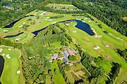 Nederland, Utrecht, Gemeente  De Bilt, 30-09-2015. Den Dolder, Golfsocieteit De Lage Vuursche, 18-holes golfbaan.<br /> luchtfoto (toeslag op standard tarieven);<br /> aerial photo (additional fee required);<br /> copyright foto/photo Siebe Swart