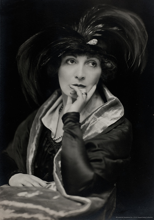 Lady Hazel Lavery, artist and socialite, wife of Sir John Lavery, 1916