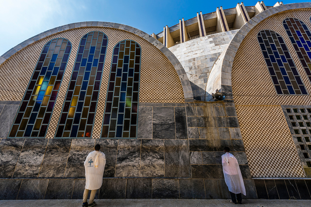 Church of Our Lady Mary of Zion is an Ethiopian Orthodox Tawahedo Church in Axum (Aksum), Ethiopia. It is claimed to contain the Ark of the Convenant.