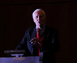 © Under licence to London News Pictures. 14/03/14 Tony Benn has died aged 88. FILE PICTURE: 1430/03/2011.Tony Benn speaks at a 'Hands Off Libya' rally organised by the Stop The War Coalition, at Conway Hall in central London on March 30th 2011. .Picture credit should read:  Blake-Ezra Cole/London News Pictures.
