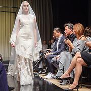 NLD/Amsterdam/20150919 - Modeshow Mart Visser - The Confidence, de bruid