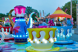 Fair or carnival amusement ride
