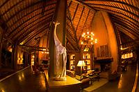 Interior views, Kapama River Lodge, Kapama Private Game Reserve, near Kruger National Park, South Africa