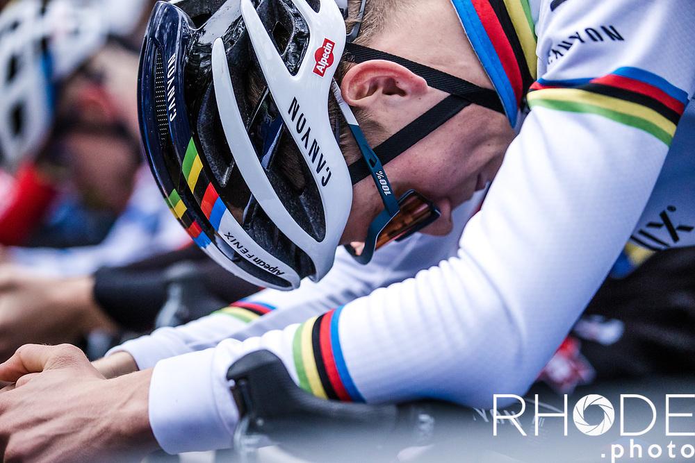 world champion Mathieu van der Poel (NED/Alpecin-Fenix) pre race <br /> <br /> X2O Badkamertrofee Herentals 2020<br /> Men Elite Race<br /> <br /> ©RhodePhotoMedia