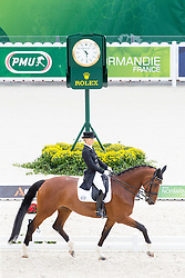 Grete Barake, (EST), Talent - Grand Prix Team Competition Dressage - Alltech FEI World Equestrian Games™ 2014 - Normandy, France.<br /> © Hippo Foto Team - Leanjo de Koster<br /> 25/06/14