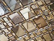 Mirrored Ceiling detail, Chehel Sotun, Isfahan, Iran