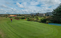 ZANDVOORT - hole 6. Golfbaan The Dunes / Open Golf.    COPYRIGHT KOEN SUYK