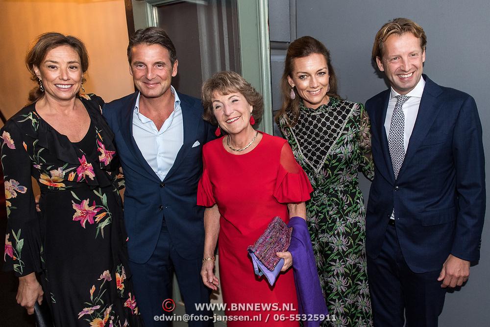 NLD/Amsterdam/20190916 - Prinses Irene viert verjaardag bij een ode aan de natuur, Prins Maurits en Prinses Marilene, Prinses Margriet, Prins Floris en Prinses Aimee