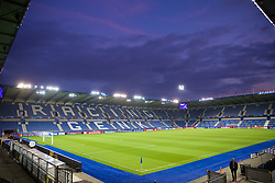 GENK, BELGIUM - Tuesday, October 22, 2019: A general view of the KRC Genk Arena ahead of the UEFA Champions League Group E match between KRC Genk and Liverpool FC. (Pic by David Rawcliffe/Propaganda)