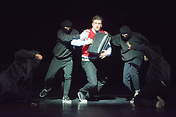 © Licensed to London News Pictures. 28/06/2014. London, UK. Playlist: a weekend of dance diversity, offering a taster of the best of Sadler's Wells taken from the programme SAMPLED. Excerpt from New Work. Photo credit : Tony Nandi/LNP