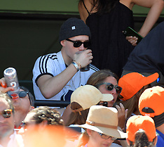 David Beckham & Victoria Beckham at the Miami Open - 1 April 2018
