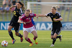 17.05.2012, Olympiastadion, Muenchen, GER, UEFA CL, Finale Damen, Olympic Lyon (FRA) vs FFC Frankurt (GER), im Bild Lyon's french defender Laura Georges (captain) in action during the UEFA Champions League final for women played at the Olympia Stadion and contested by Olympic Lyon from France and FFC Frankurt from Germany, Germany on 2012/05/17 . EXPA Pictures © 2012, PhotoCredit: EXPA/ Mitchel Gunn