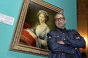 """© Filippo Alfero<br /> Incontro con Frankie hi-nrg mc. Presentazione di ARTUNE la colonna sonora della mostra """"DA POUSSIN AGLI IMPRESSIONISTI"""" a Palazzo Madama<br /> Torino, 10/05/2016"""