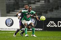 Max Alain Gradel / Jacques Francois Moubandje - 28.02.2015 - Toulouse / Saint Etienne - 27eme journee de Ligue 1 -<br />Photo : Manuel Blondeau / Icon Sport