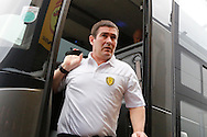Burton Albion manager Nigel Clough arriving at Vicarage Road during the The FA Cup 3rd round match between Watford and Burton Albion at Vicarage Road, Watford, England on 7 January 2017. Photo by Richard Holmes.